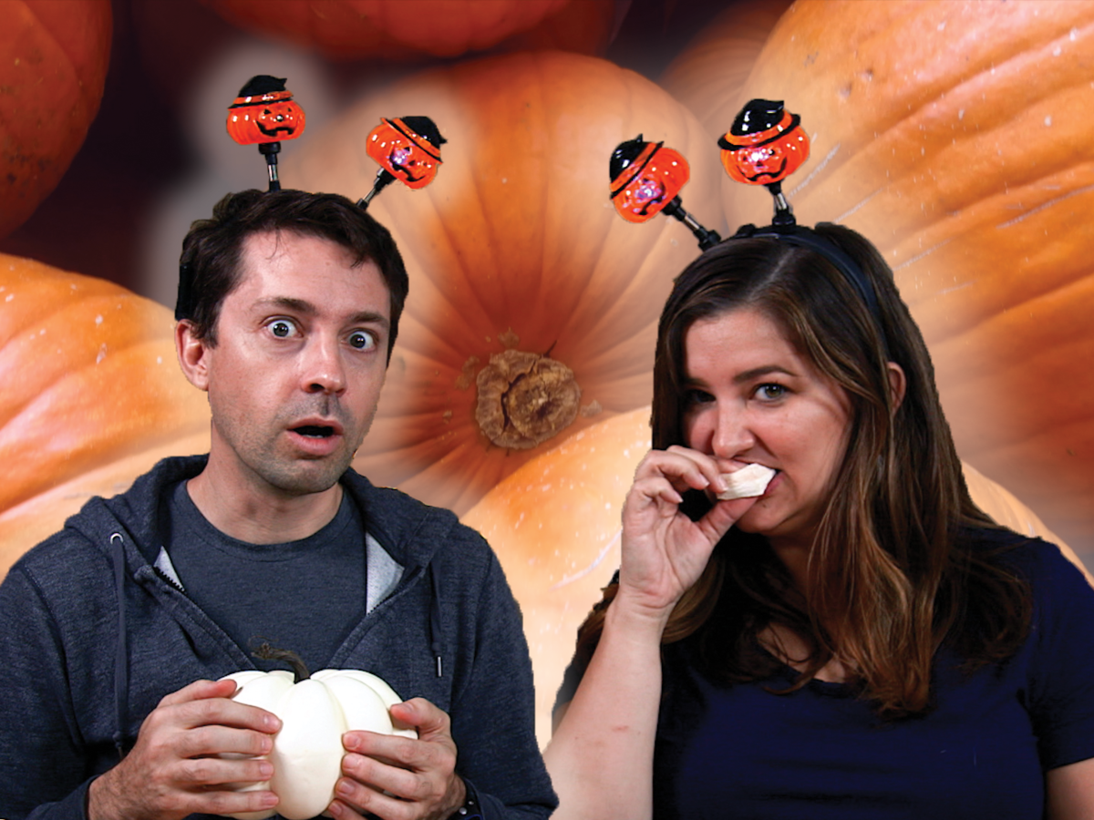 A Very Special Taste Test Part 2: Chris and Jaime Try EVEN MORE Pumpkin Spice