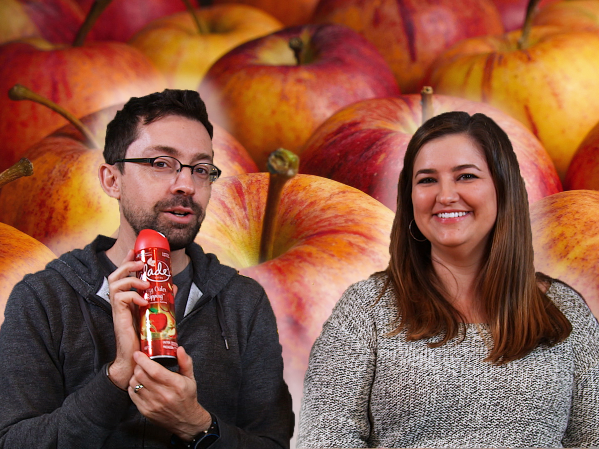 Taste Test: Jaime and Chris Try 6 Apple-Flavored Snacks