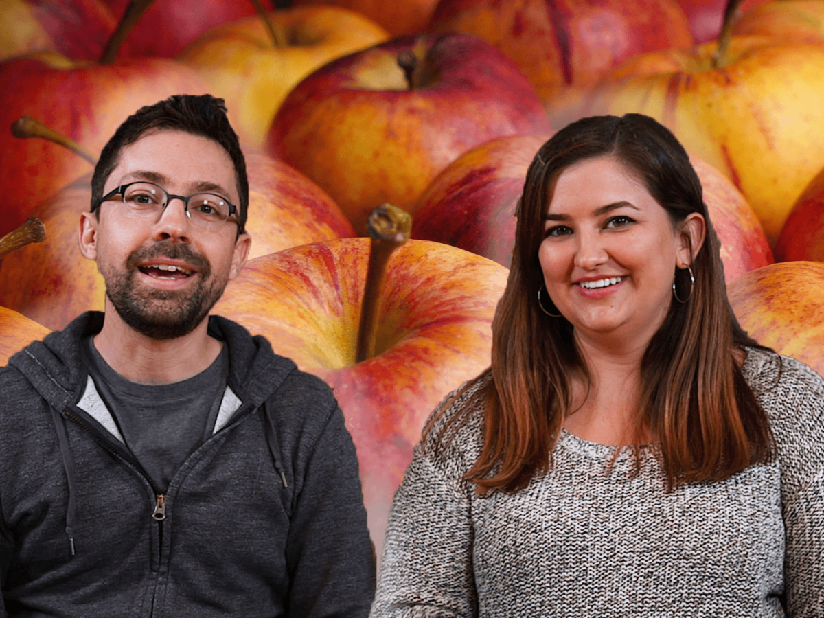 Taste Test: Chris and Jaime Try 6 Apple-Flavored Snacks from Target