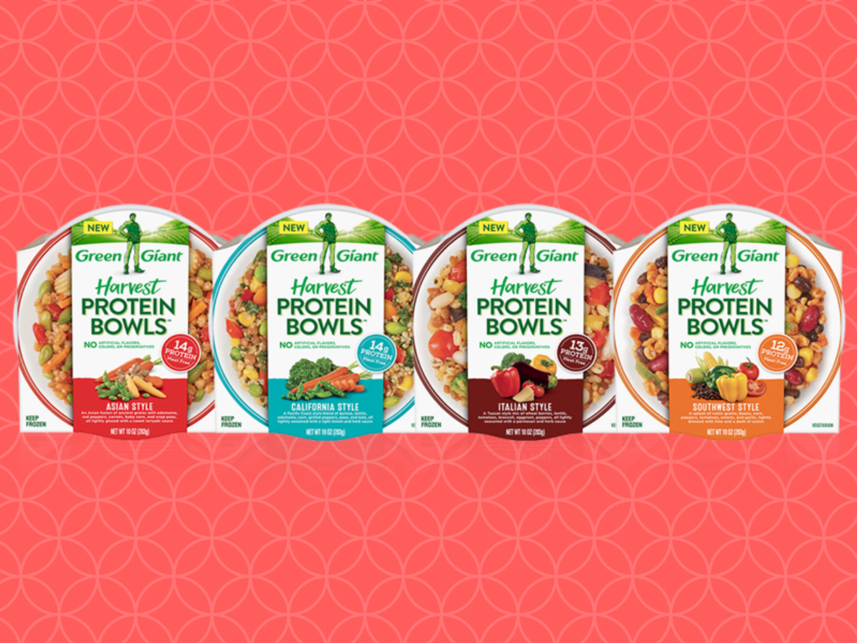 Green Giant Released Protein Bowls, and They're About to Be Your New Favorite Work Lunch