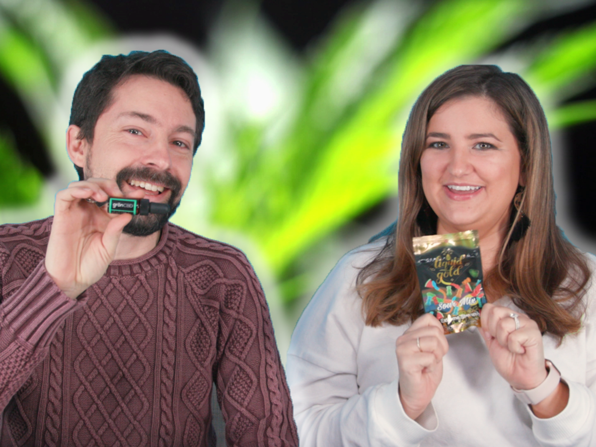 Taste Test: Watch Chris and Jaime Try All the CBD Products