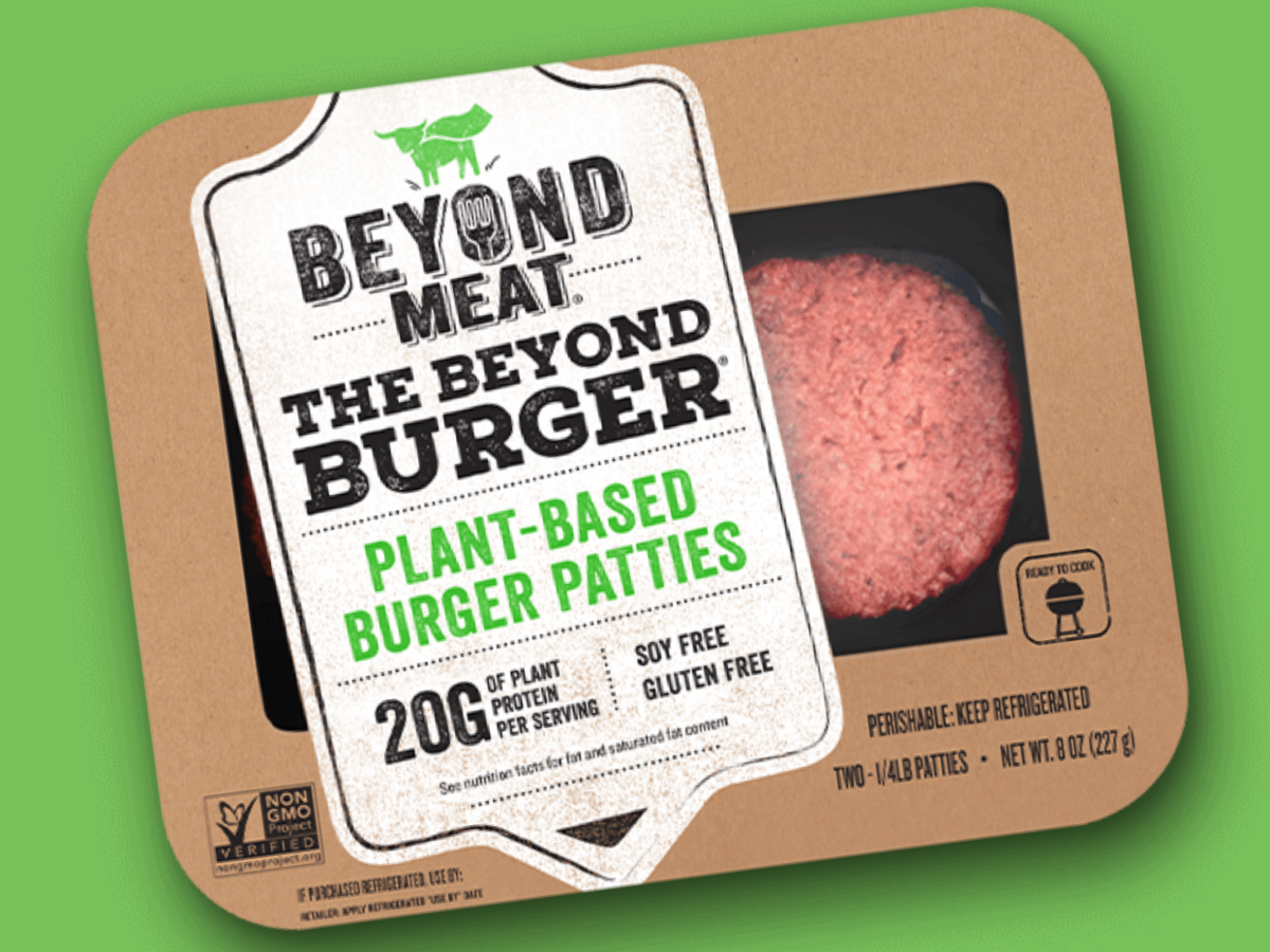 Do Beyond Burgers Belong In the Meat Meat Section?