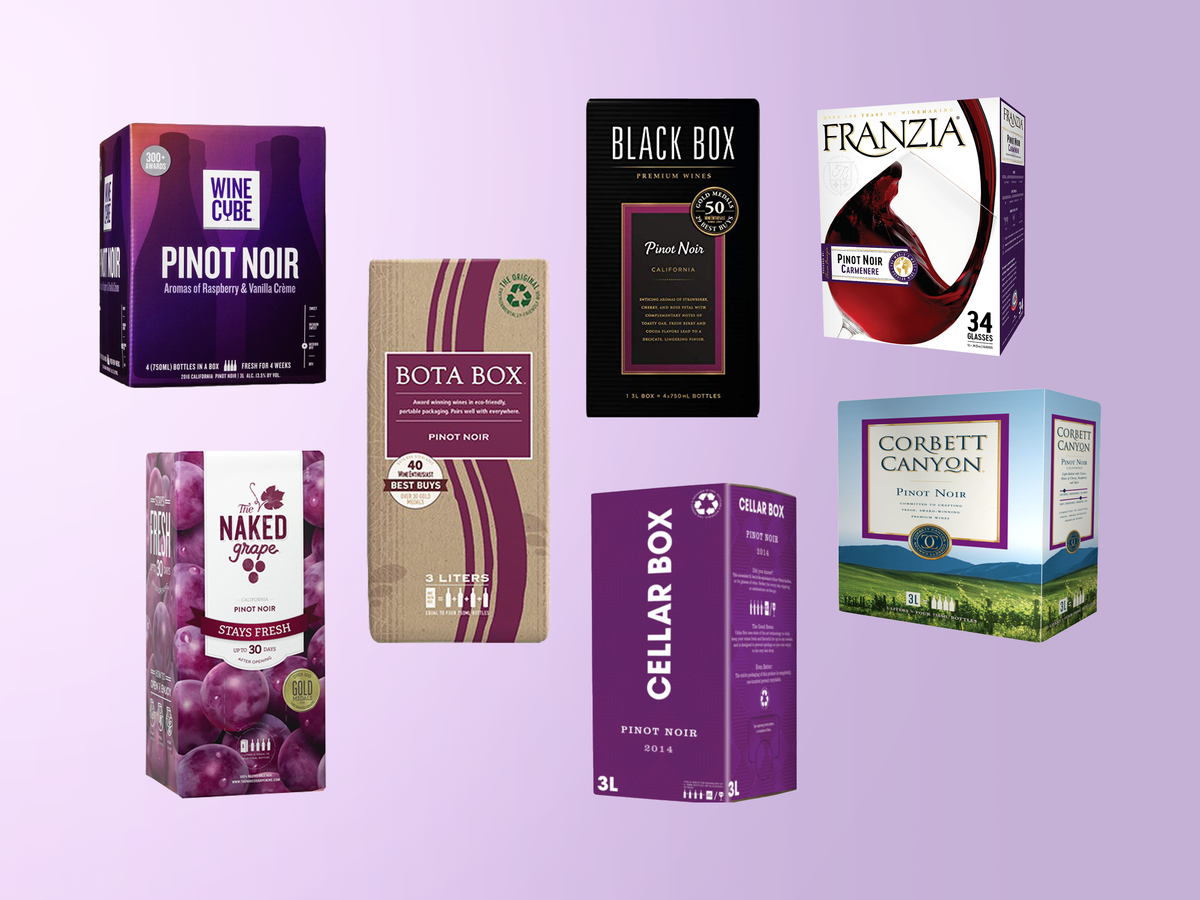 We Tried Every Boxed Pinot Noir We Could Find—and This Was the Best One