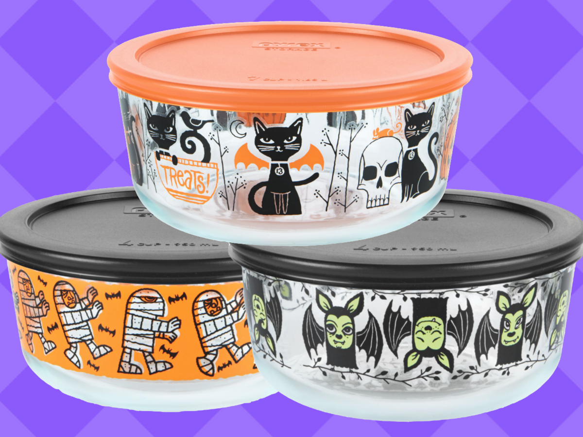 PSA: You Can Buy These Adorable Halloween Pyrex Containers at Target