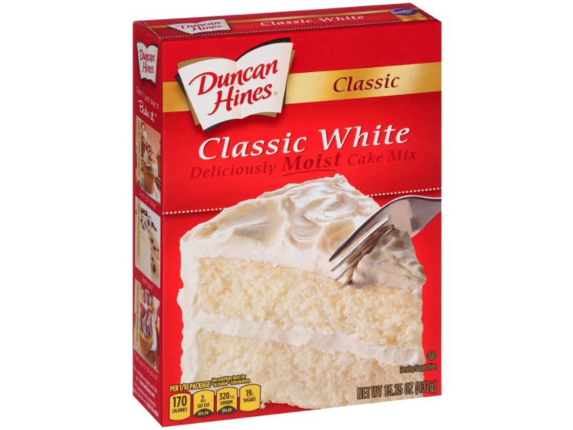 Duncan Hines Recalls 2.4 Million Boxed Cake Mixes Over Potential Salmonella Risk