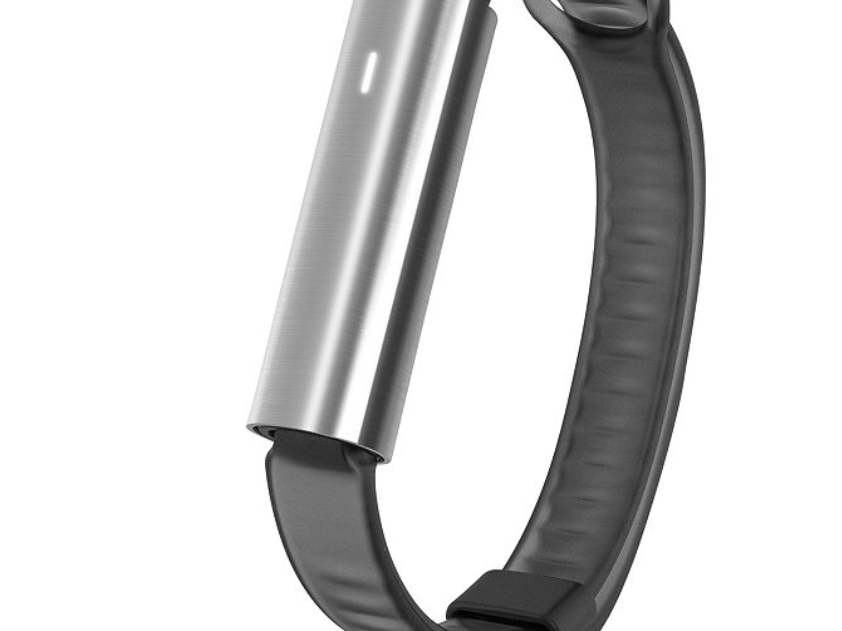 Misfit Unisex Ray Black Silicone Sport Band Activity Tracker
