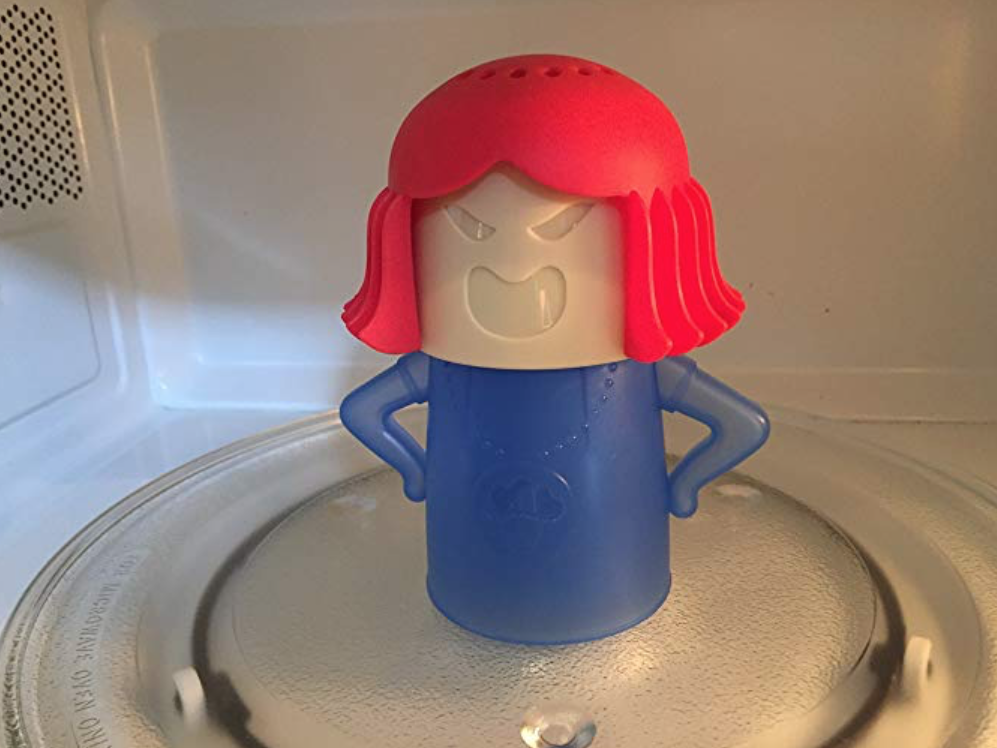 This 'Angry Mama' Tool Will Clean Your Microwave