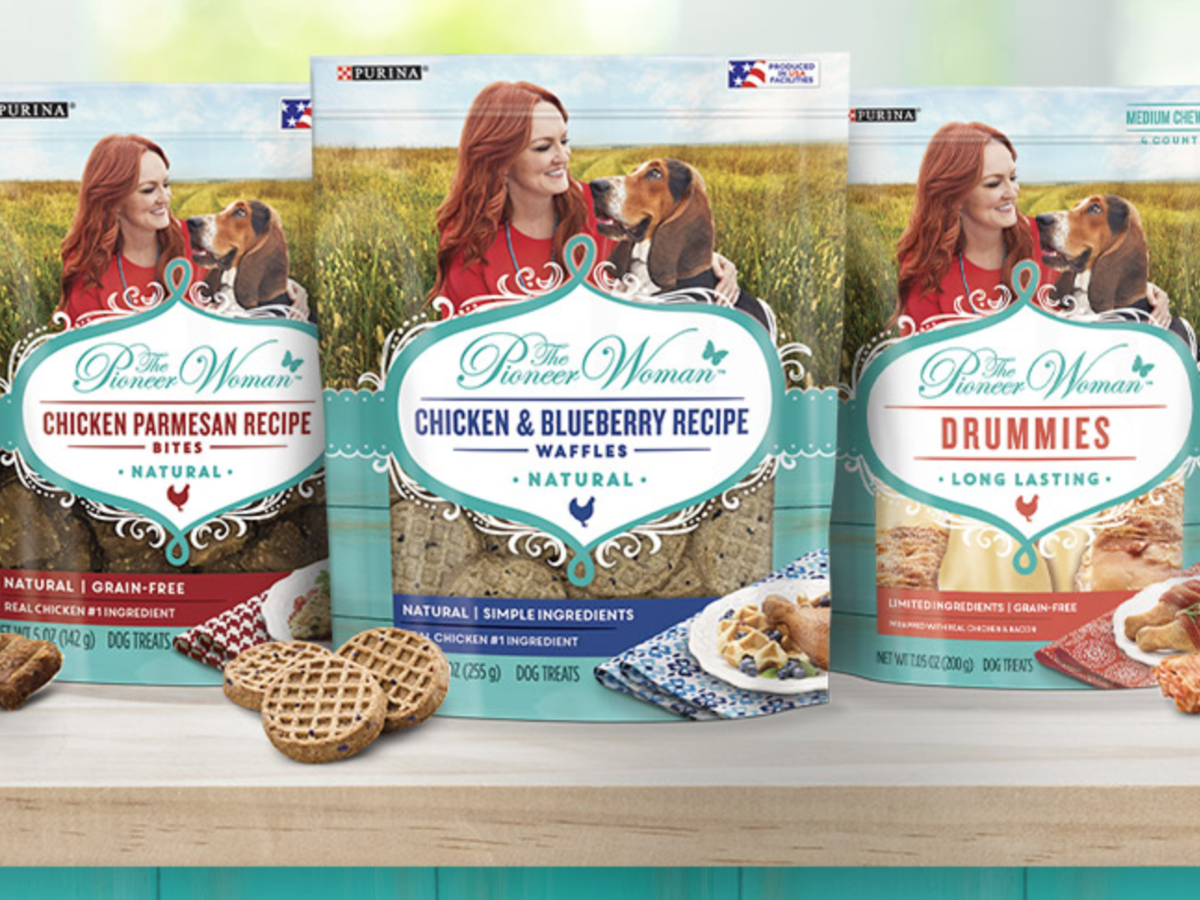 The Pioneer Woman Is Partnering With Purina For a Line of Dog Treats