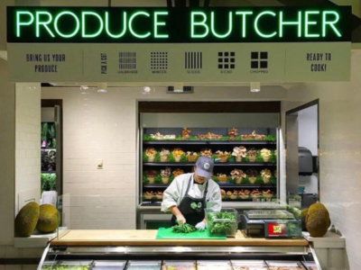 Whole Foods Produce Butcher