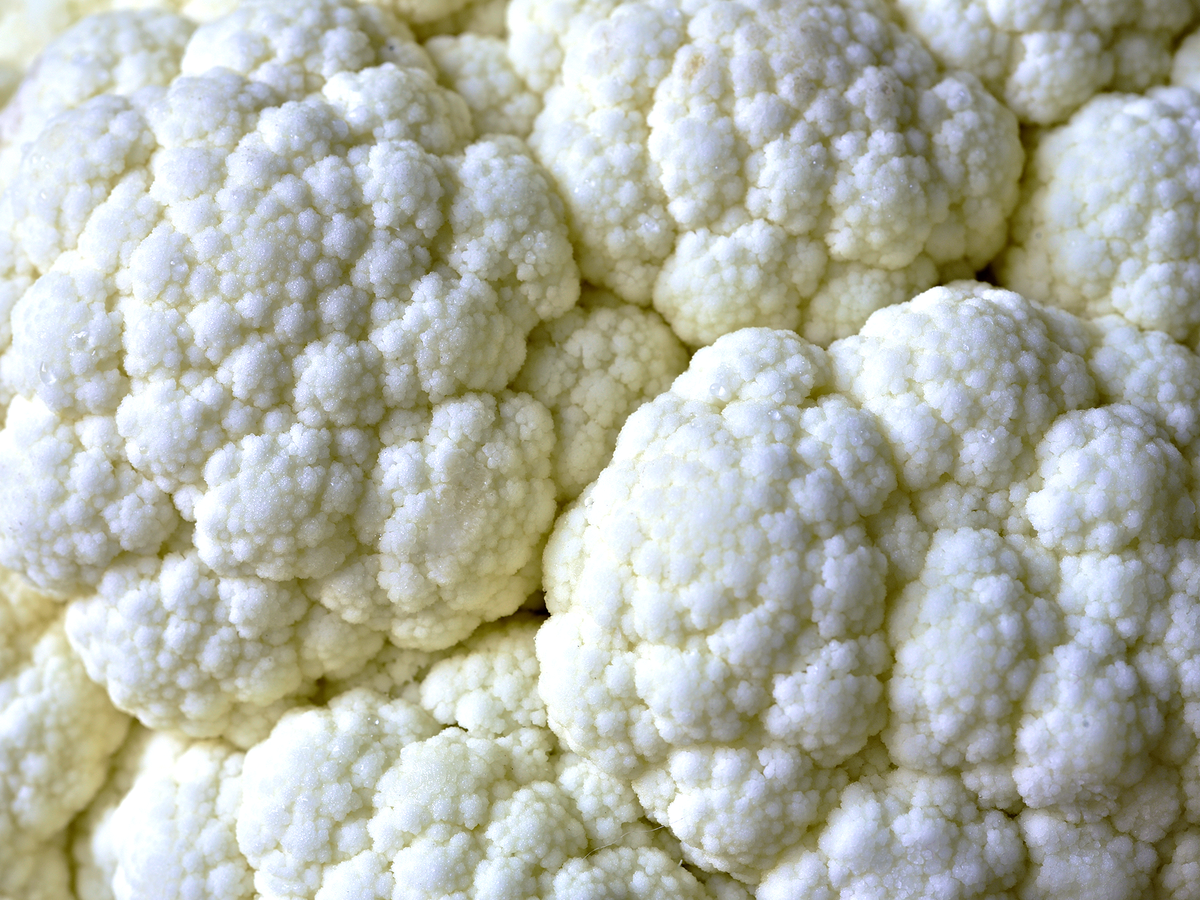 Close Up Cauliflower